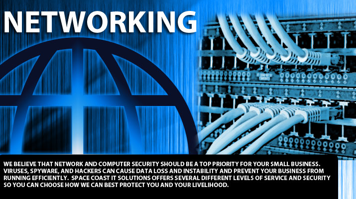 We offer networking and security